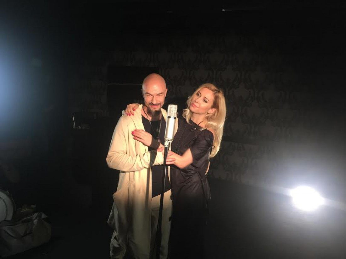 Александр Ярмола и Тоня Матвиенко