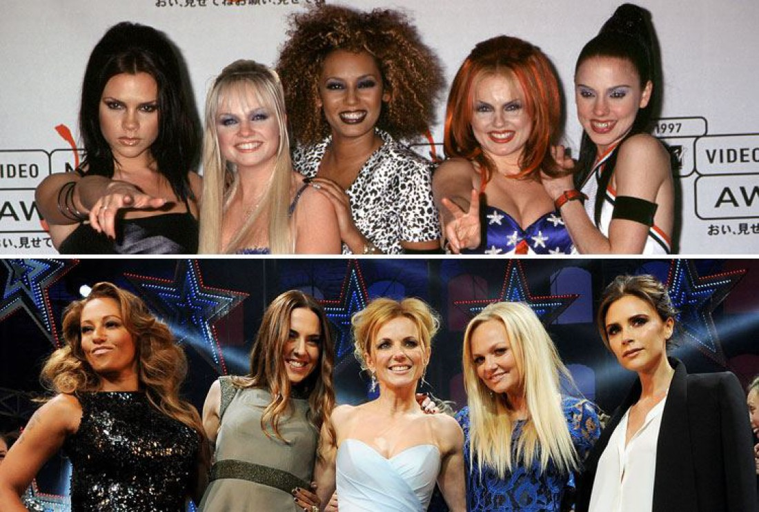 Группа Spice Girls  (1997 год и 2012 год)