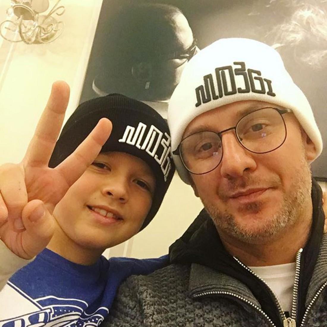 Потам с сыном Андреем