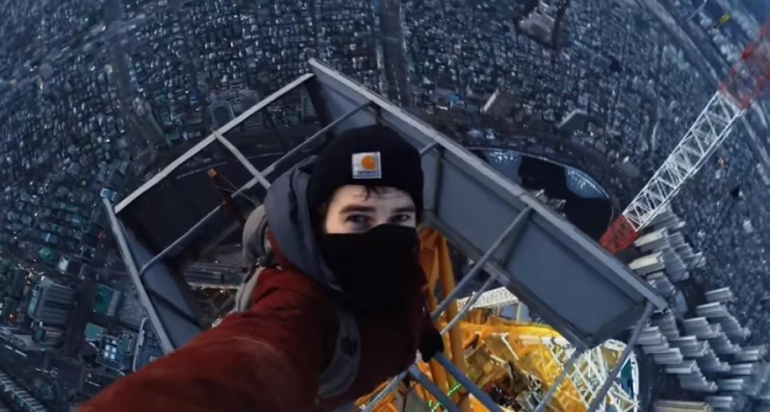 Виталий Раскалов и Вадим Махоров забрались на небоскреб Сеула