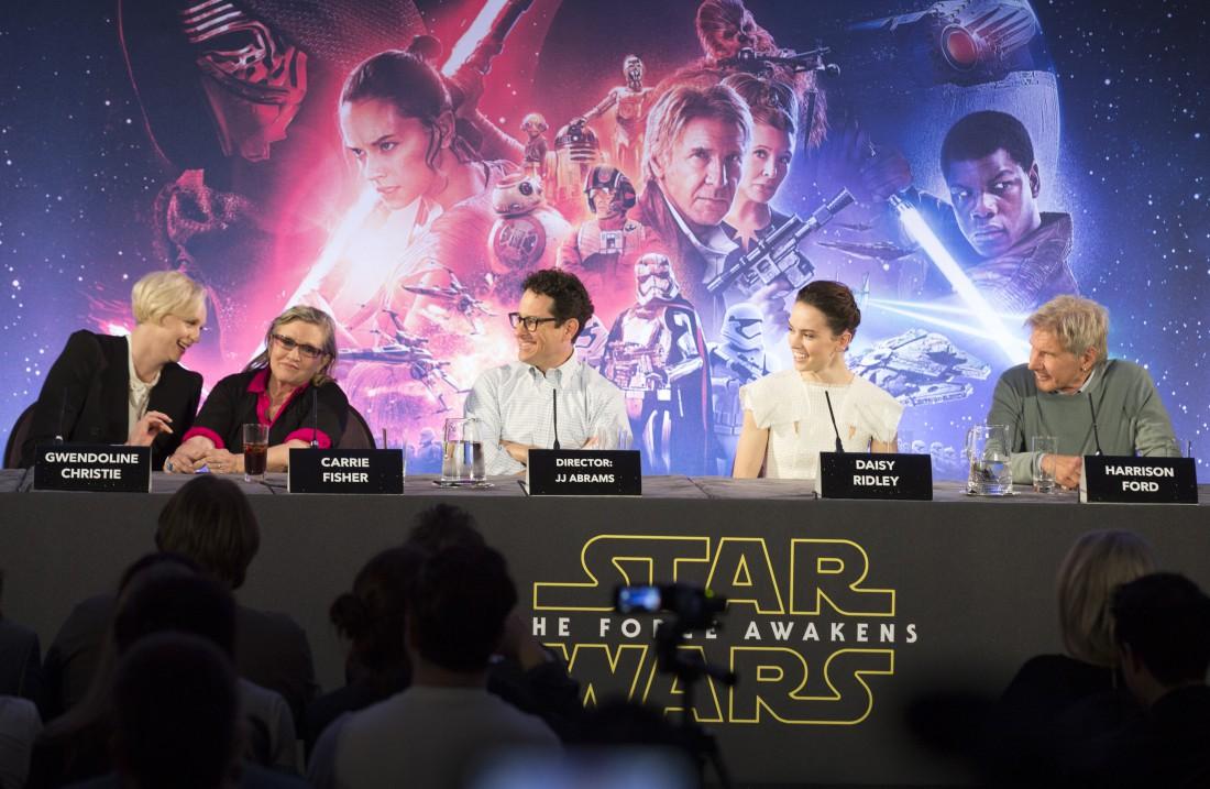Пресс-конференция Звездные войны: Пробуждение Силы