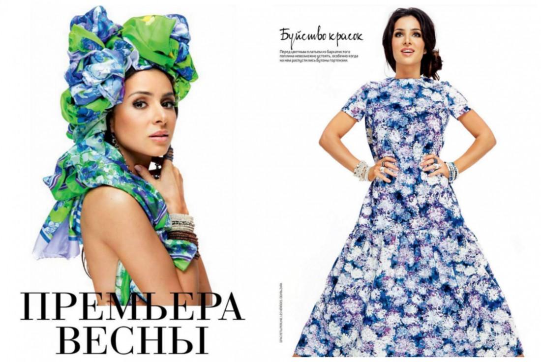 Певица Злата Огневич для Couture de Fleur Prague