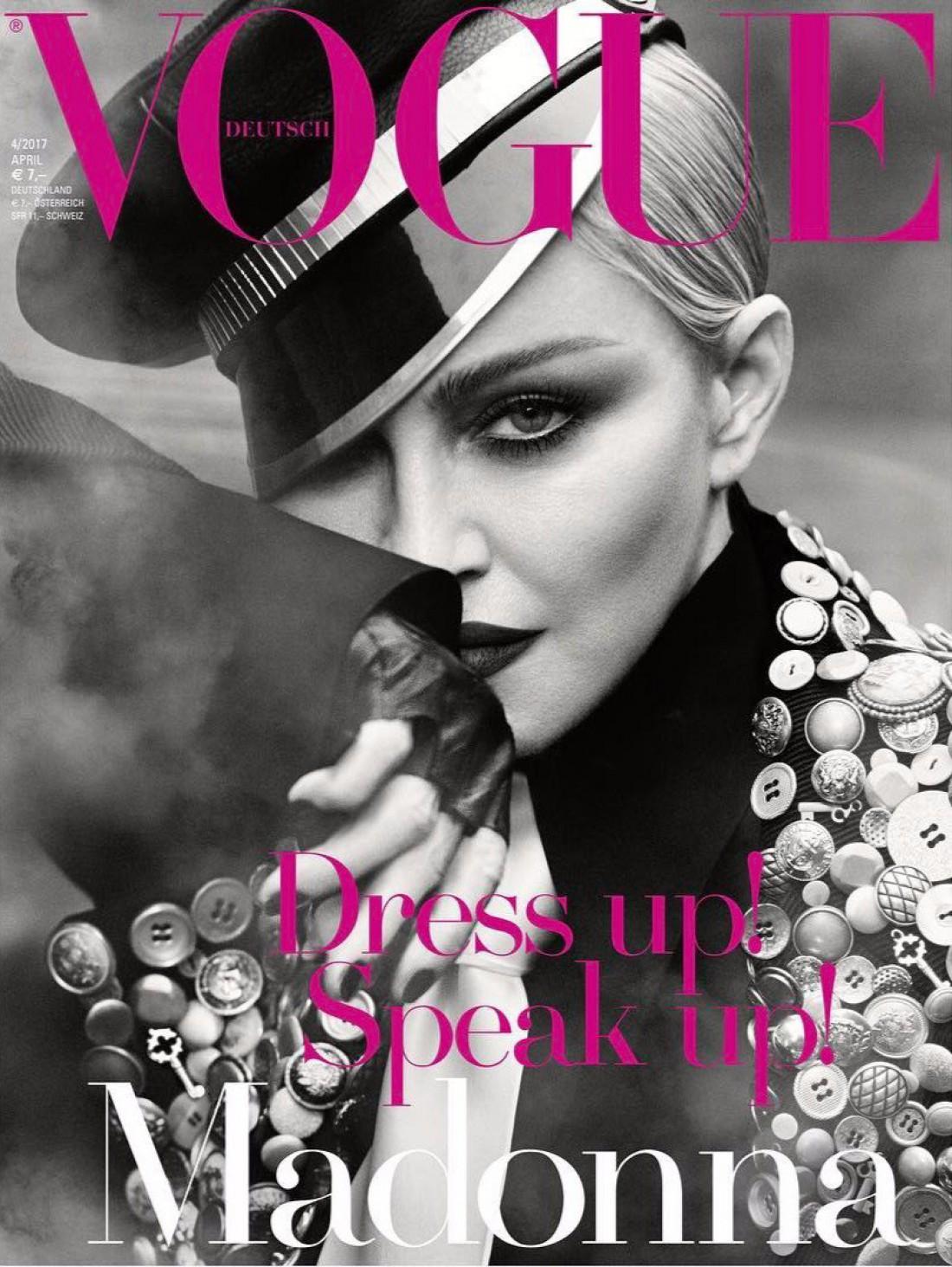 Мадонна в новом выпуске немецкого Vogue