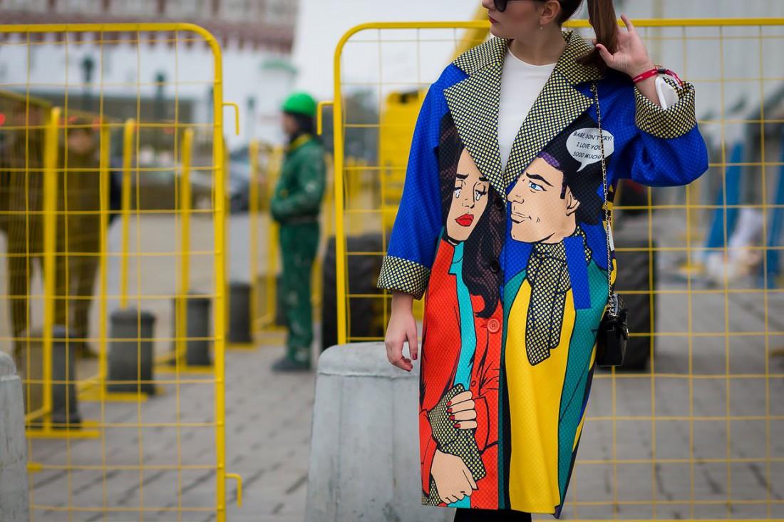 Осенние образы street style с Недели моды в Москве