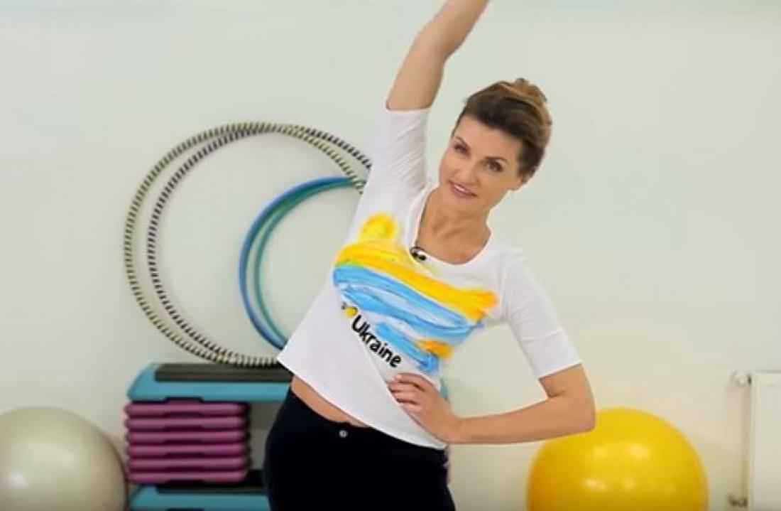 Зарядка с Мариной Порошенко