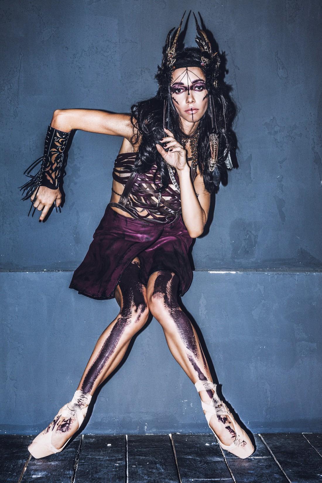 Образ на Хэллоуин: женщина-воин