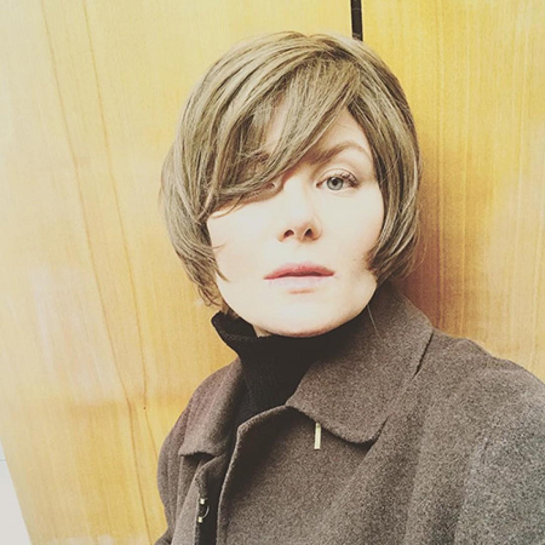 Рената Литвинова в новом образе