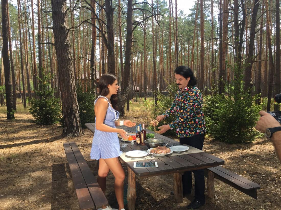 Иванна Онуфрийчук и Павло Зибров