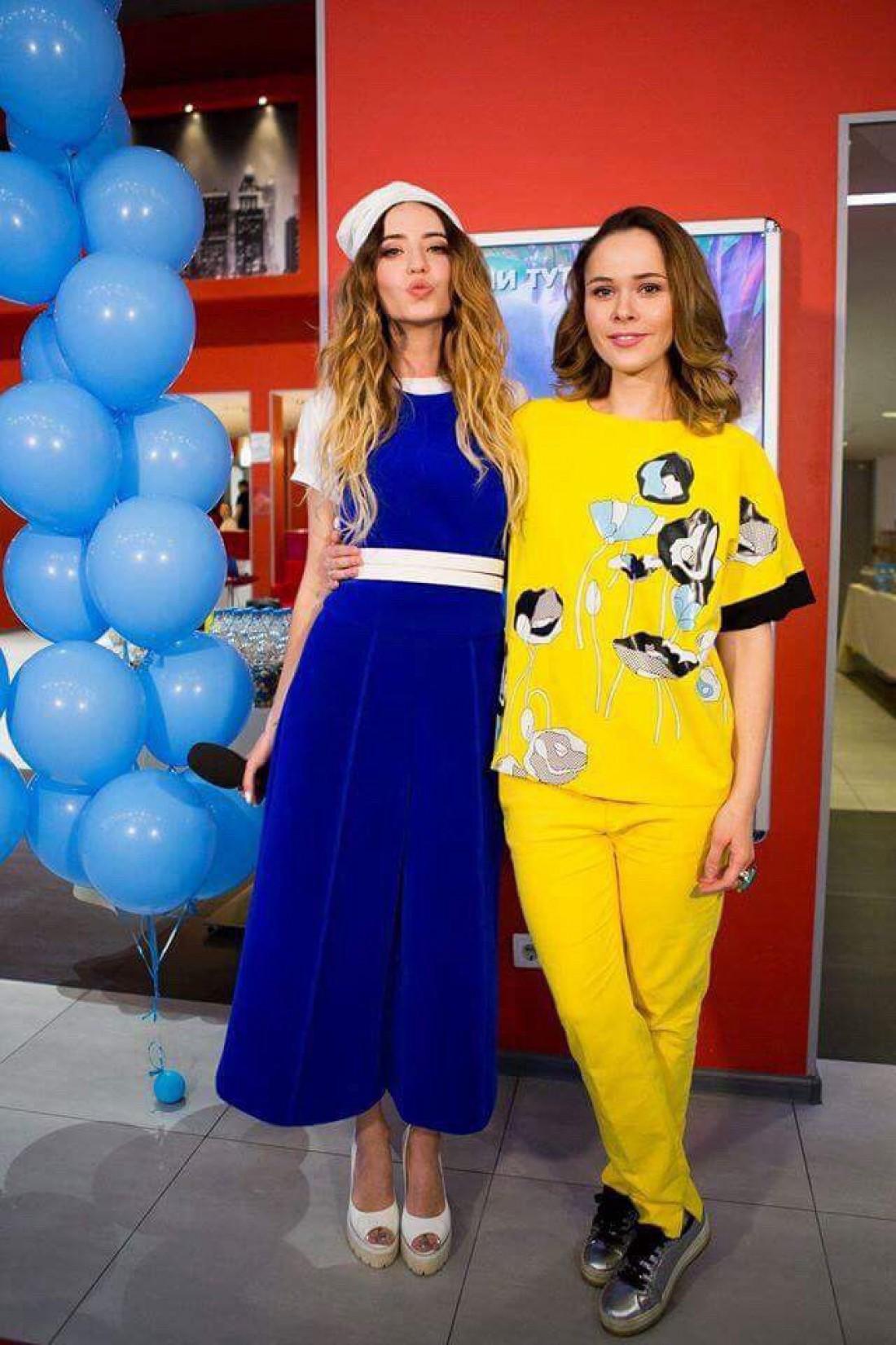 Надя Дорофеева и Юлия Санина