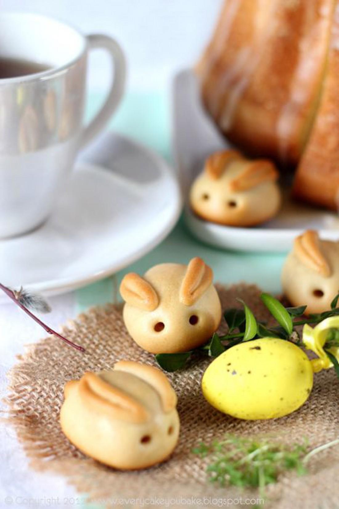 Что приготовить детям на Пасху: Пасхальные кролики из теста