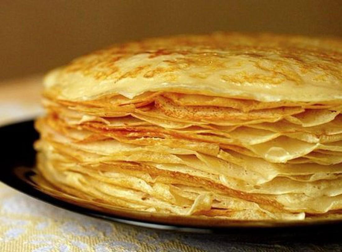 Блинный торт: вкусный рецепт праздничной закуски