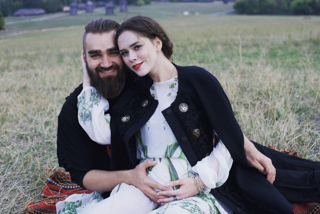 Певица Юлия Санина со своим супругом Валерием Бебко