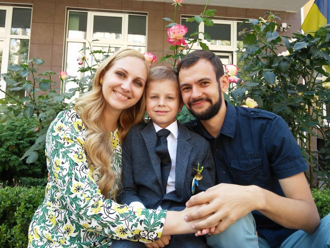 Семья Юлии Бортник