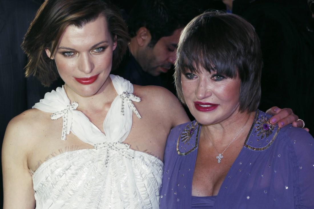 Милла Йовович с мамой Галиной Логиновой