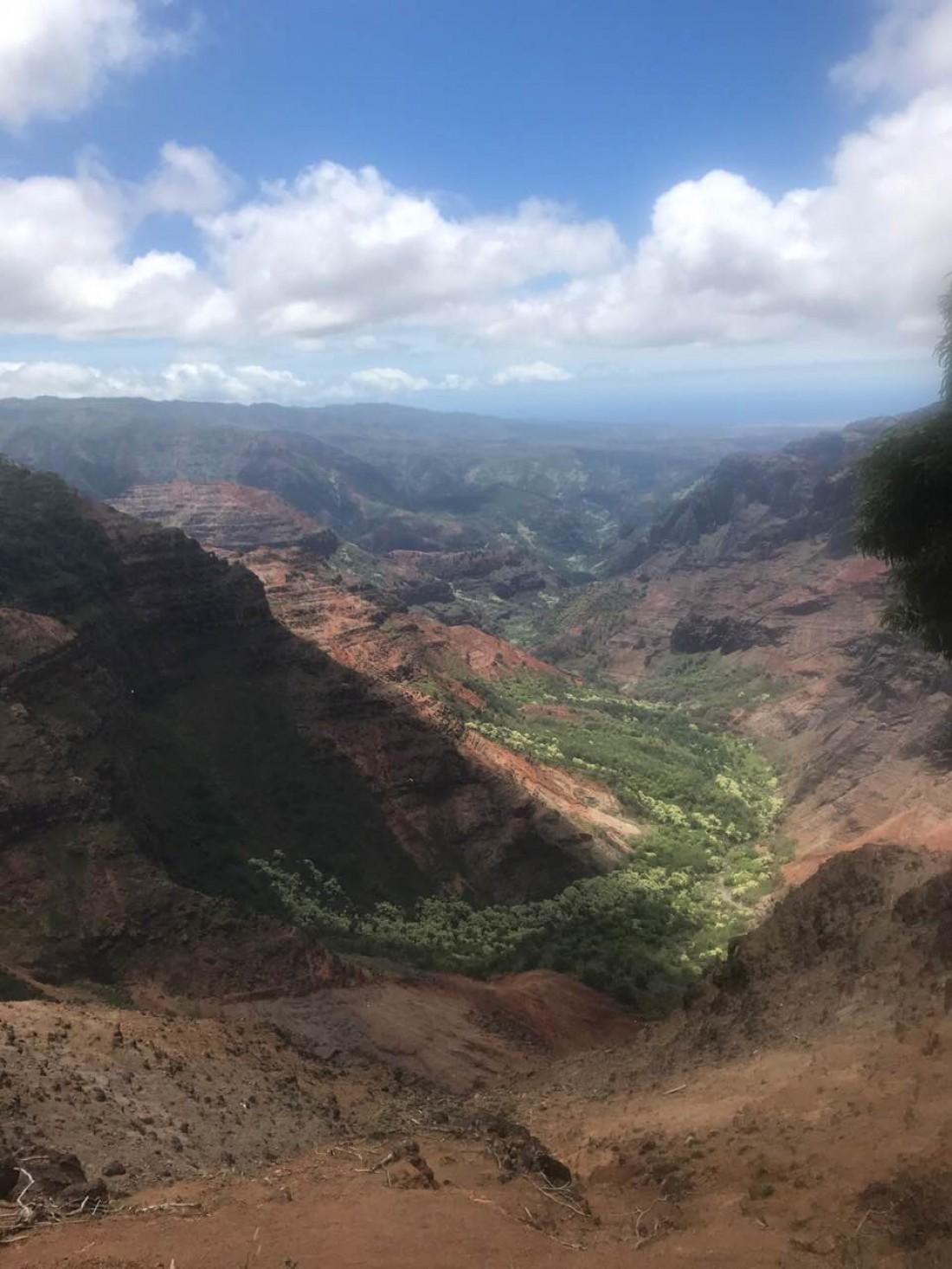 Ассия Ахат на Гавайях