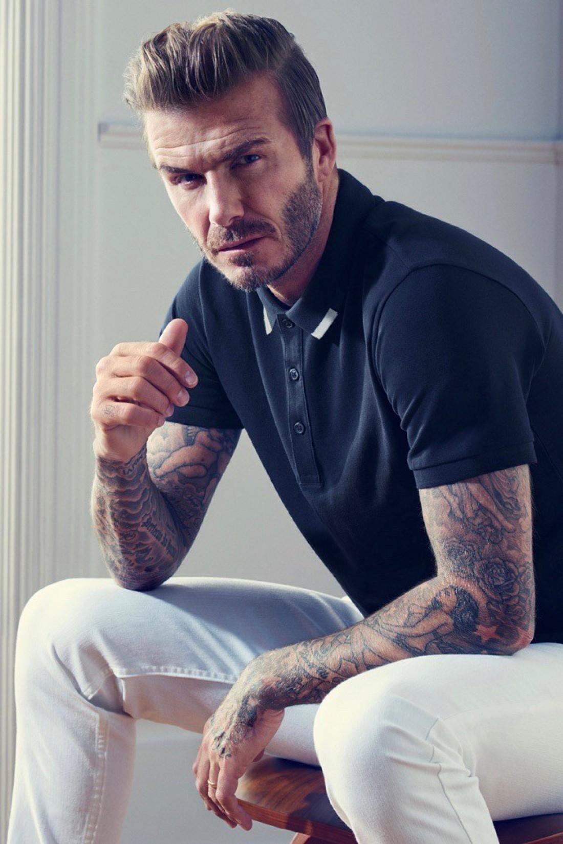 Дэвид Бекхэм в рекламной кампании H&M