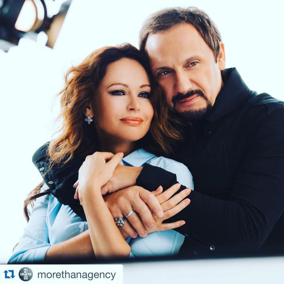 Ирина Безрукова и Стас Михайлов