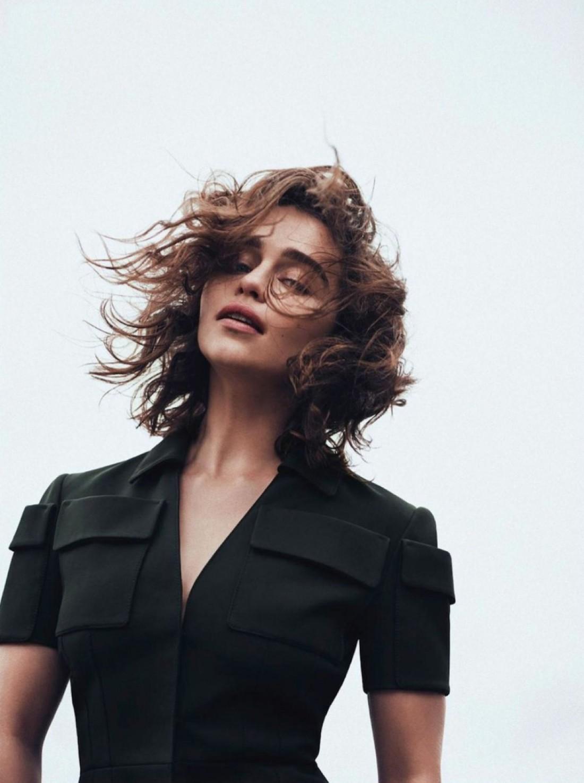 Эмилия Кларк снялась в новой фотосессии