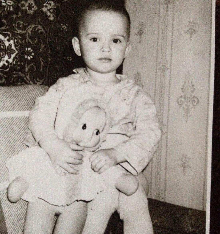 Даша Астафьева в детстве
