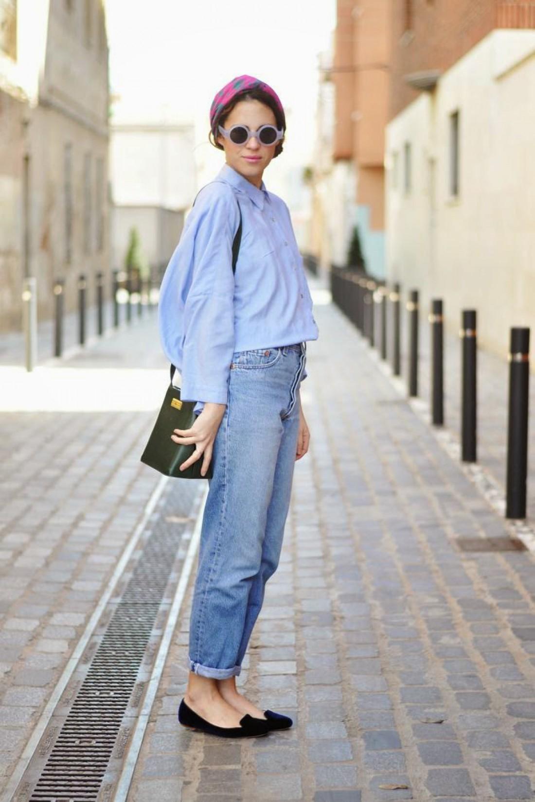 Mom jeans: образ №3