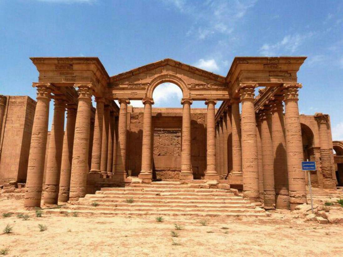 Руины города Хатра