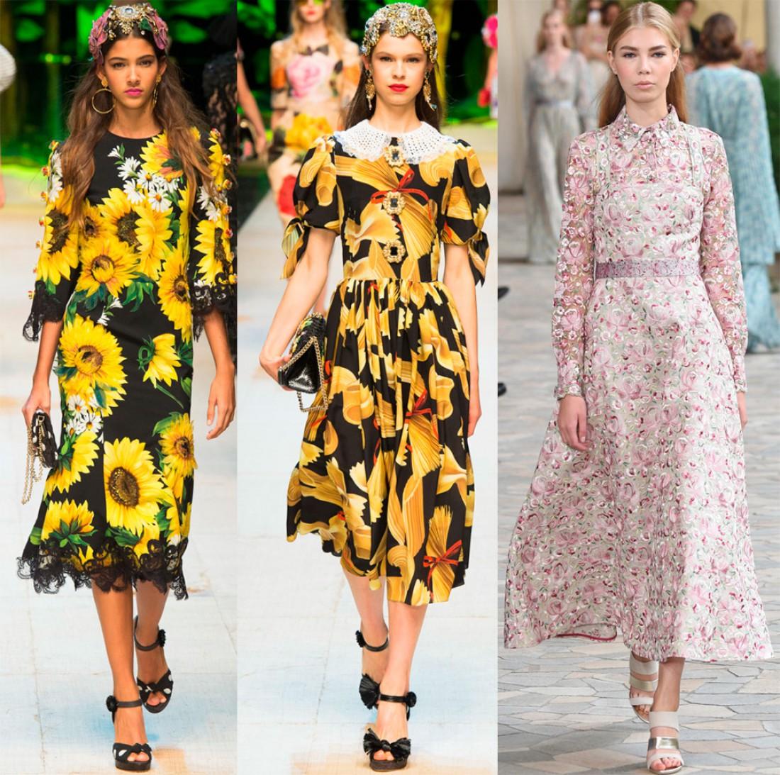 ТОП-3 стильных моделей платьев лета 2017