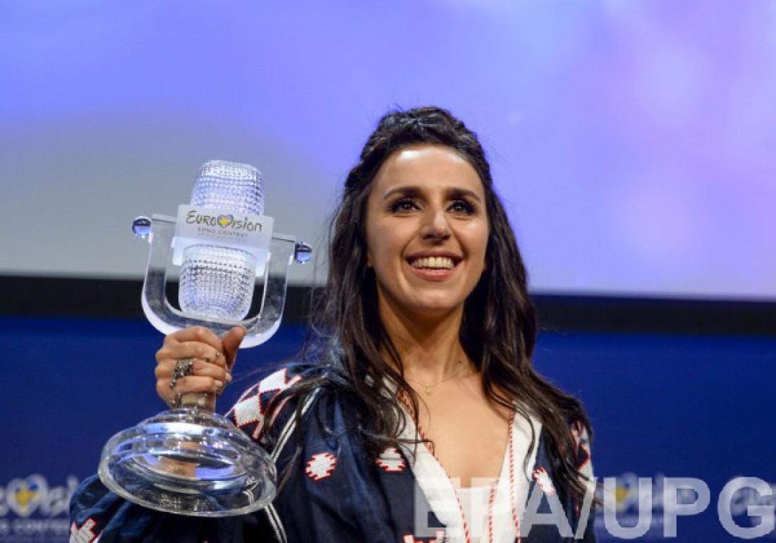 Евровидение 2016 : Победитель Джамала – Украина