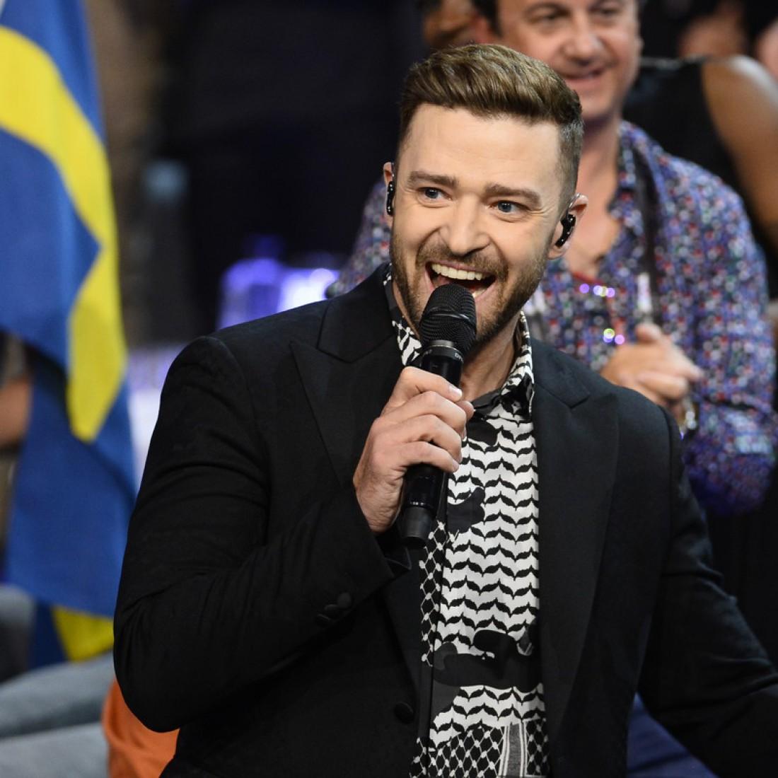 Финал Евровидения 2016: Джастин Тимберлейк