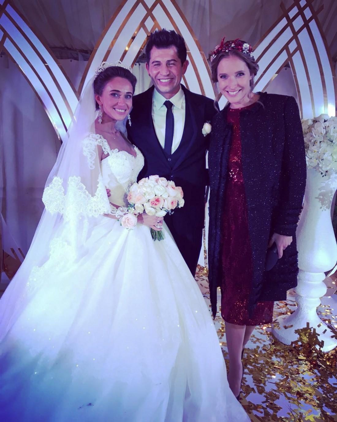 Катя Осадчая на свадьбе Джеджулы