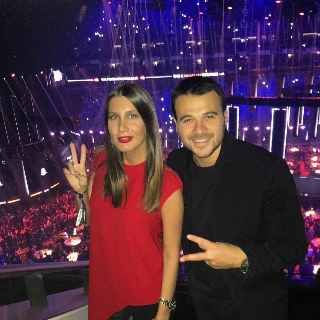 Кети Топурия и Эмин Агаларов