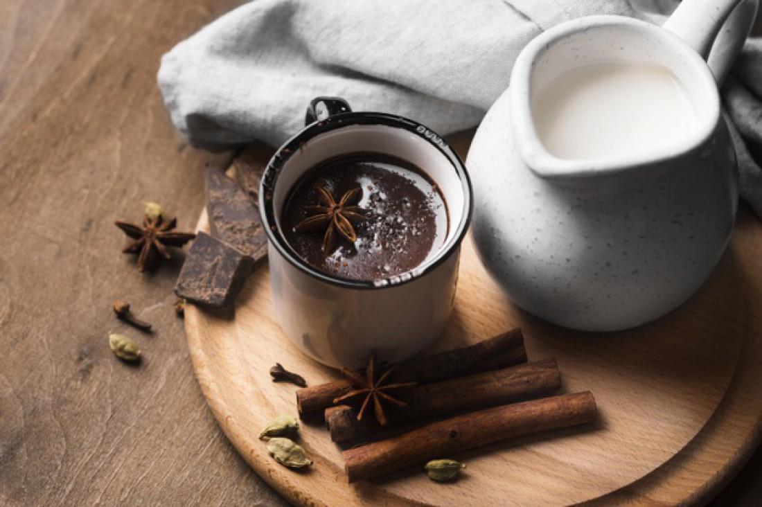 Какао с шоколадом и сгущенным молоком