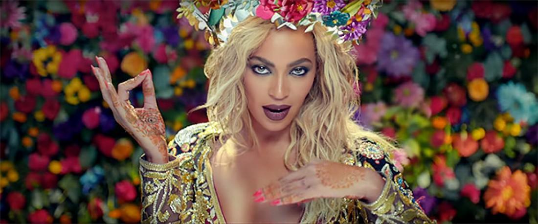Бейонсе в новом клипе группы Coldplay