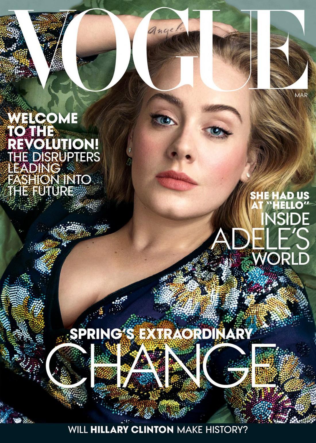 Певица украсила обложку известного журнала