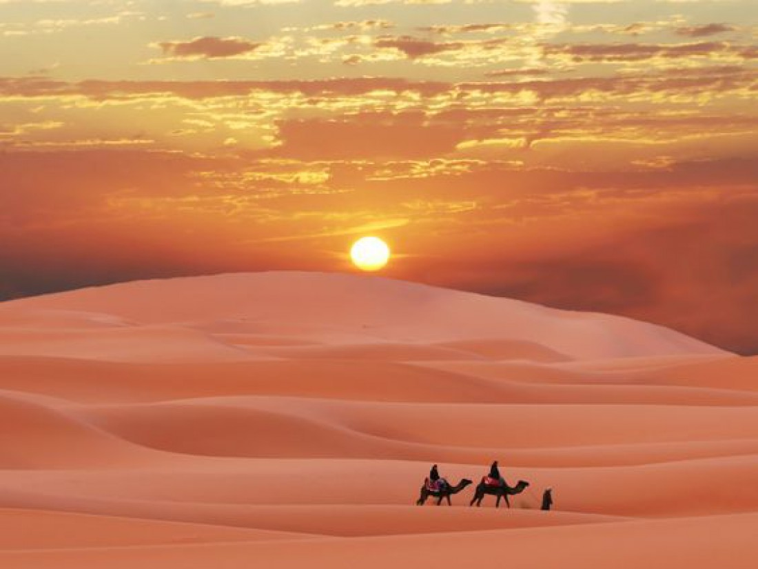 Величественная и опасная Сахара