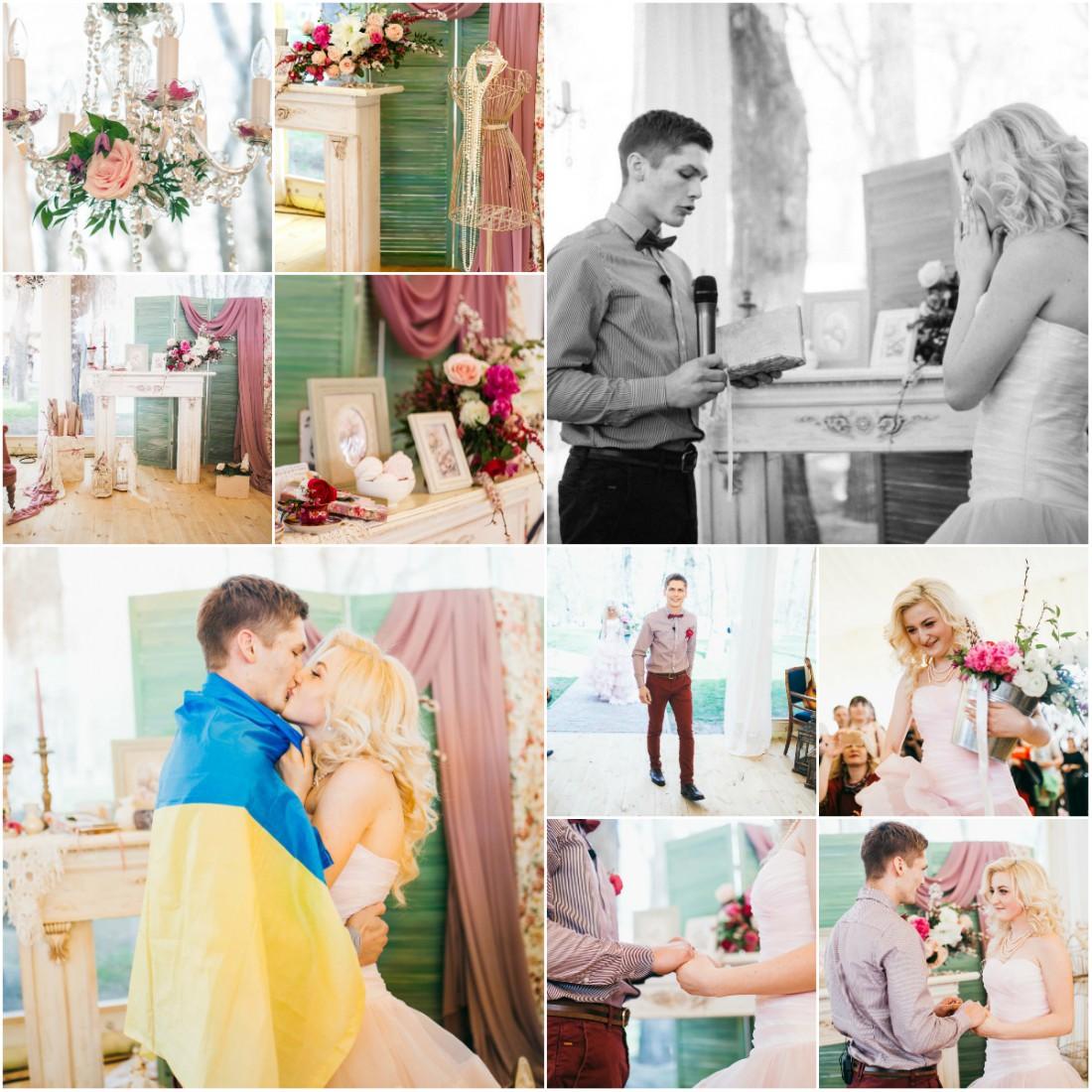 Shabby: зона церемонии студия флористики и декора Blossom design