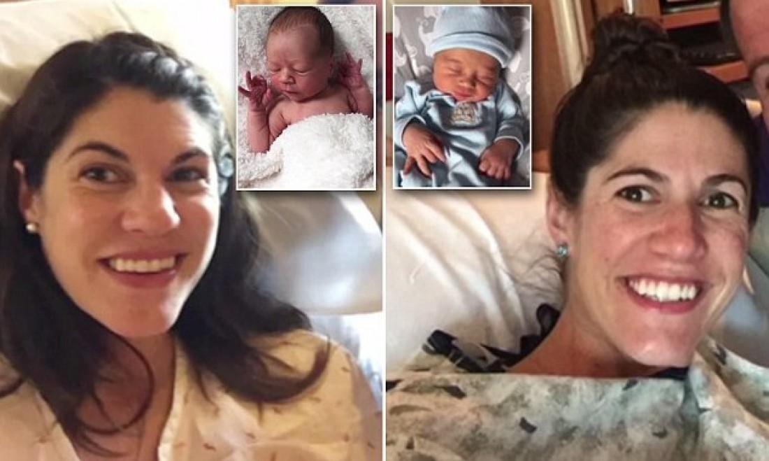 Сестры-близнецы одновременно родили первенцев