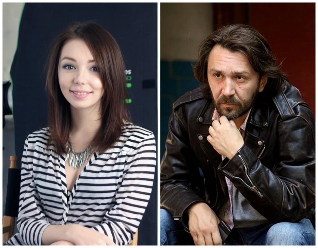 Сергей Шнуров и его дочь Серафима