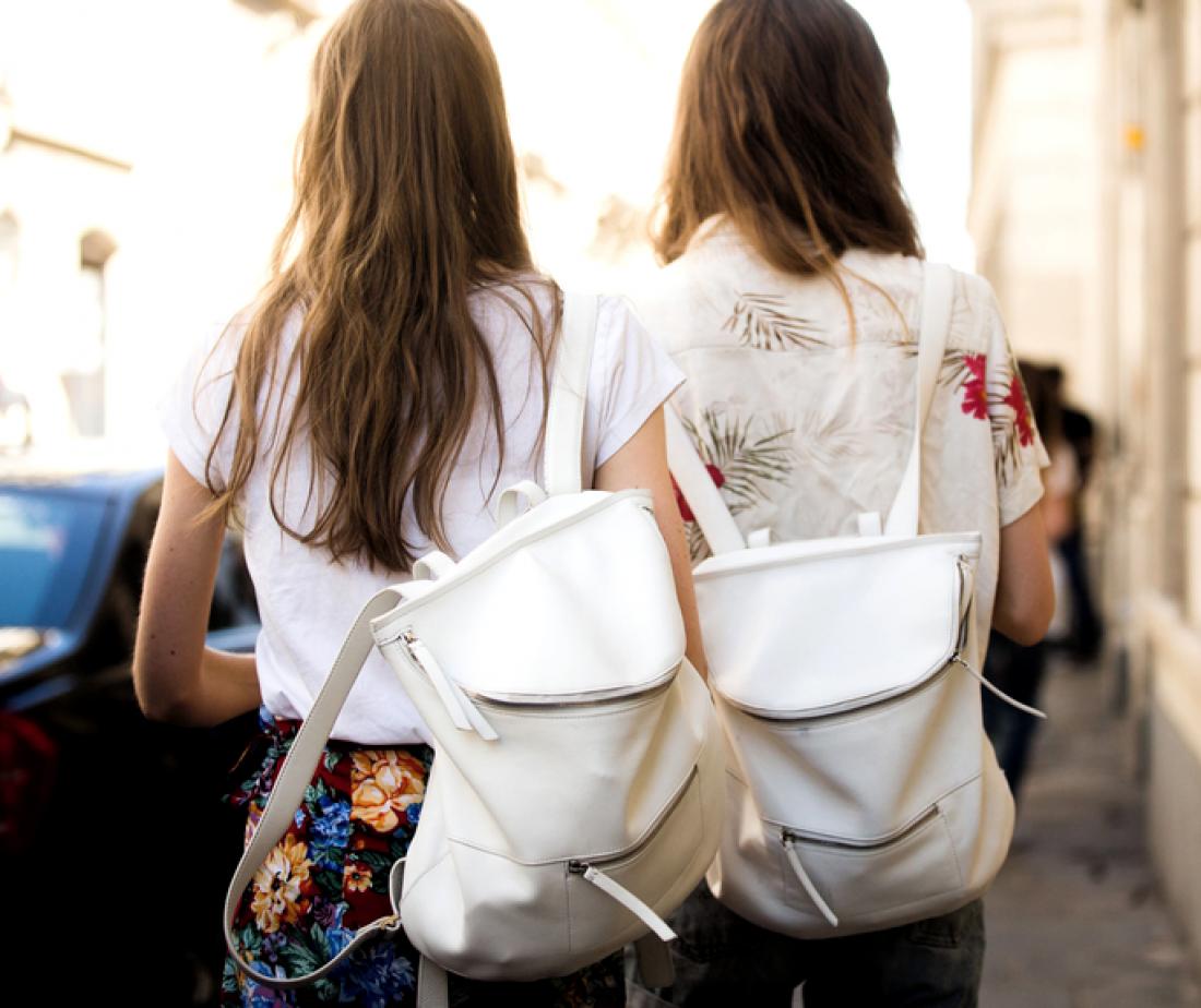 Стильные рюкзаки украсят образ на 1 сентября