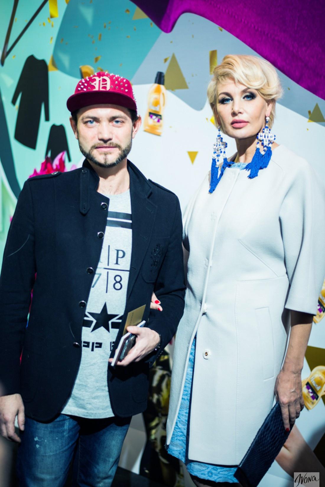 Светлана на Неделе моды в Украине