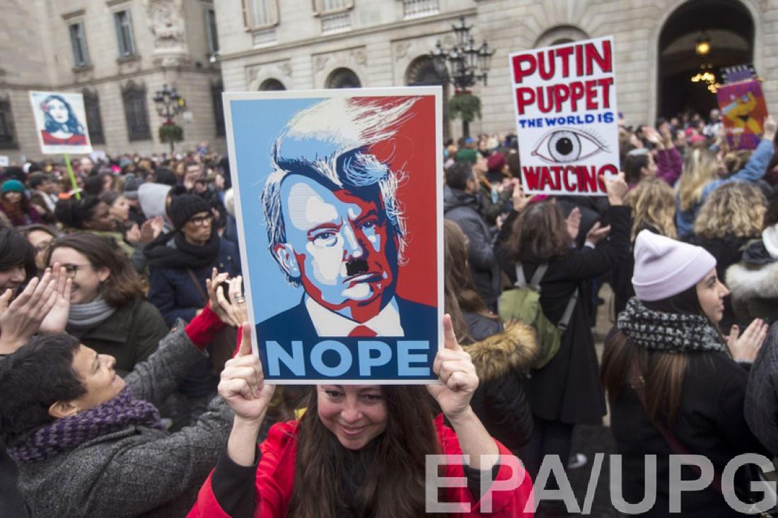 Плакаты с Путиным