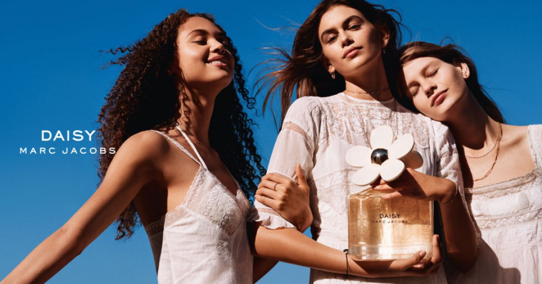 Рекламная кампания аромата Daisy