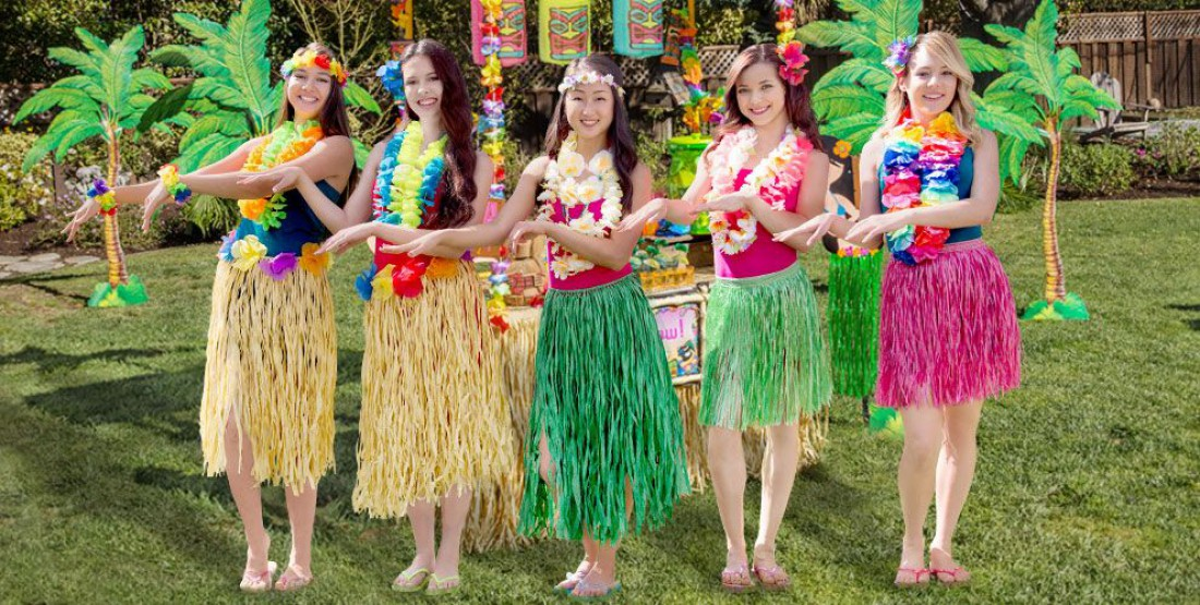 Гавайская sex вечеринка