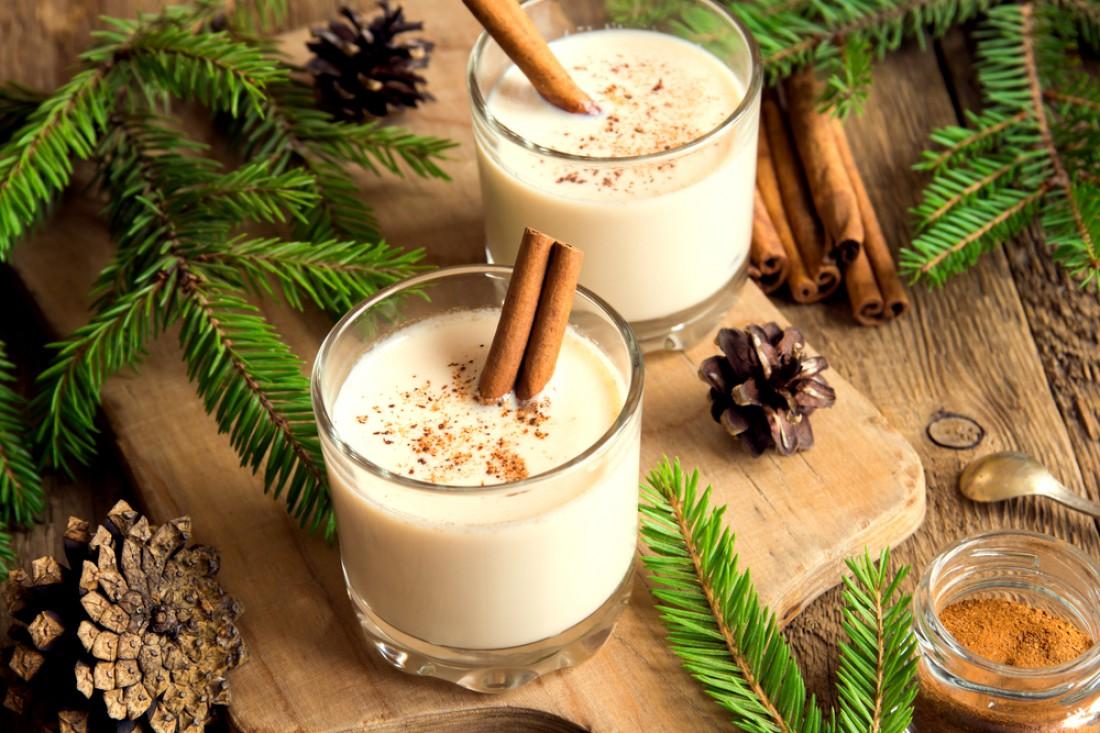 Рождественский эгг-ног: Классический рецепт коктейля