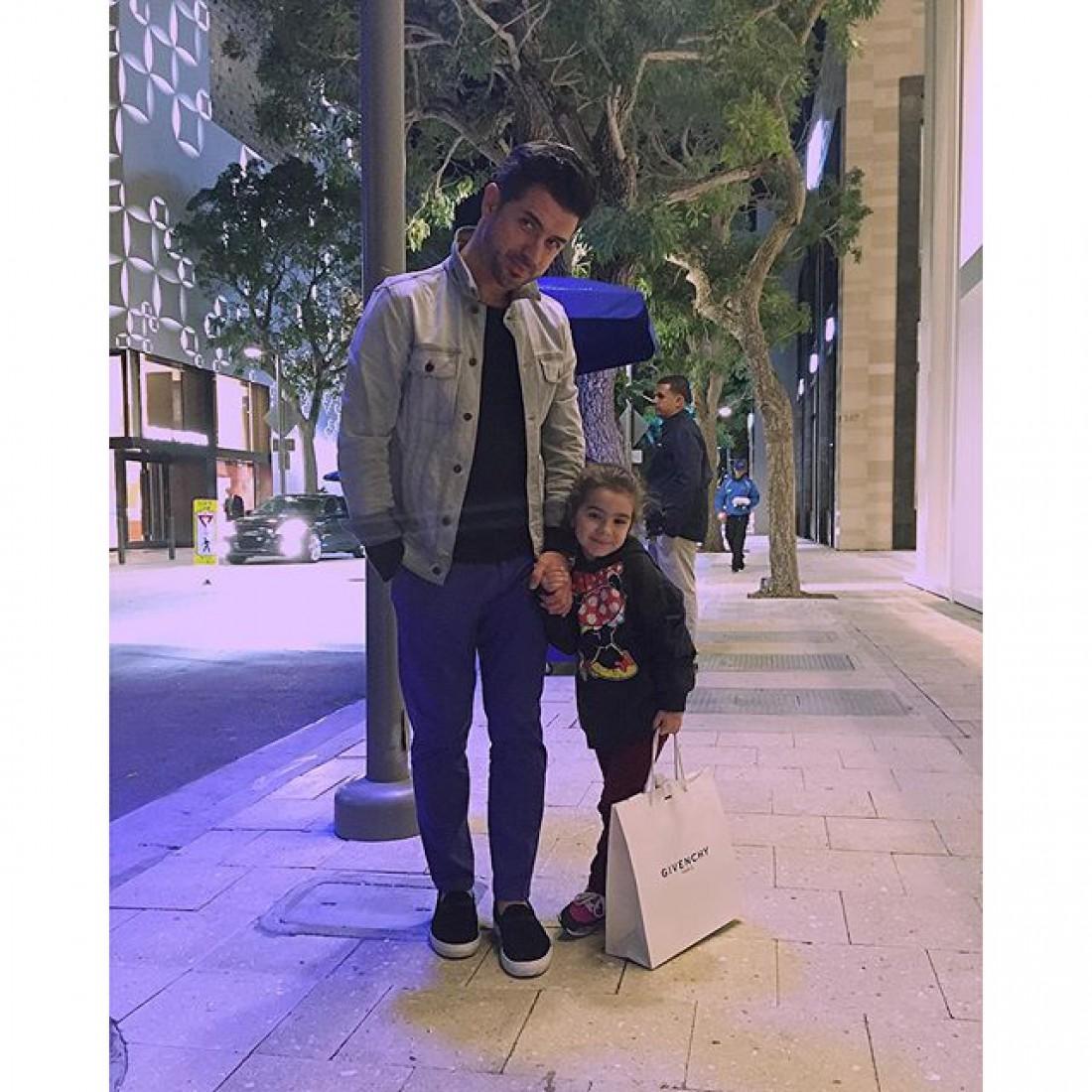 Мурат с дочкой