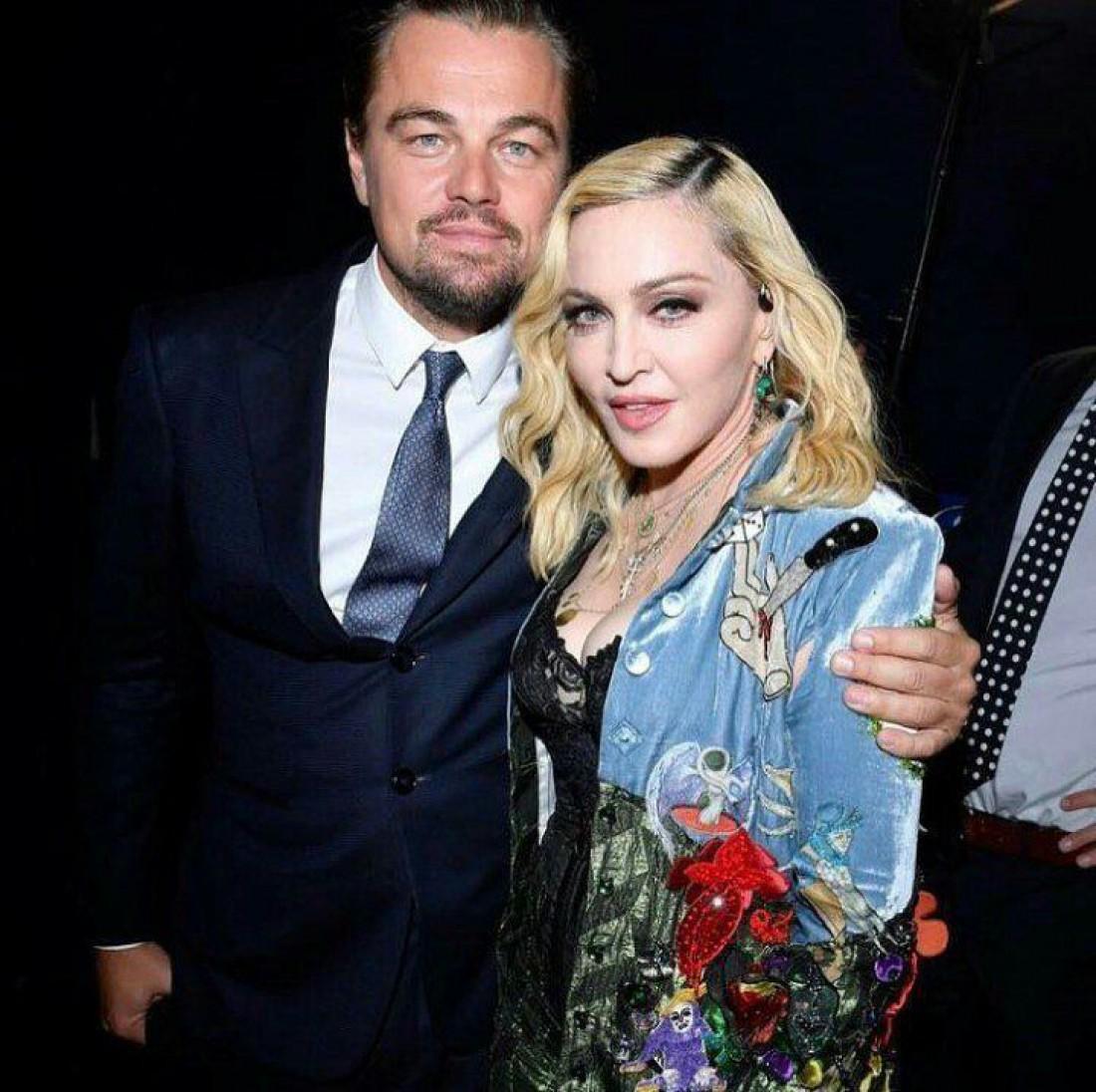 Леонардо Ди Каприо и Мадонна в Сен-Тропе
