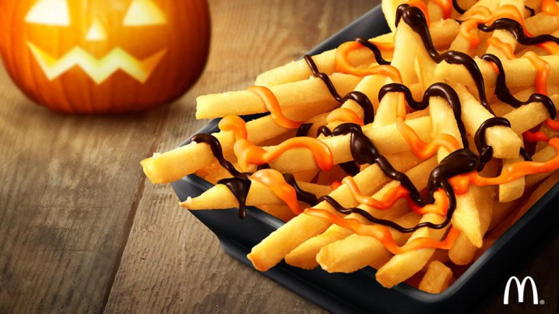 Японский картофель фри к Хэллоуину