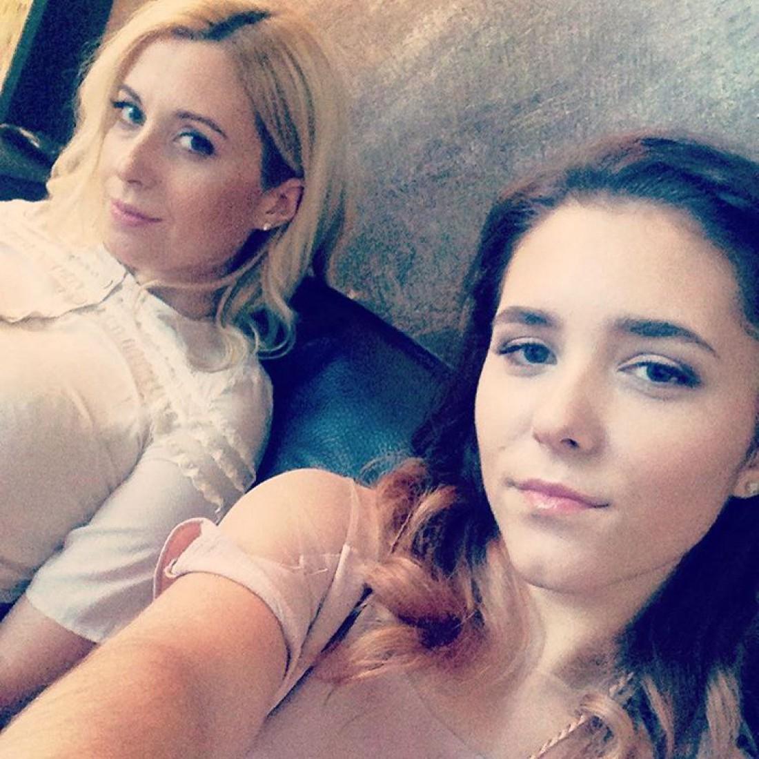 Тоня Матвиенко с дочкой Ульяной