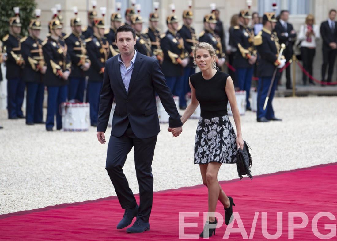 Тиффани Озьер с мужем