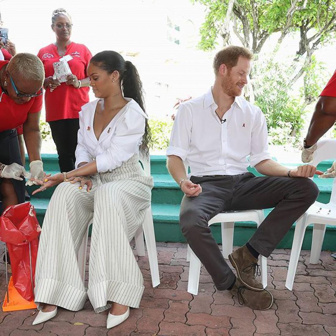 Рианна и принц Гарри