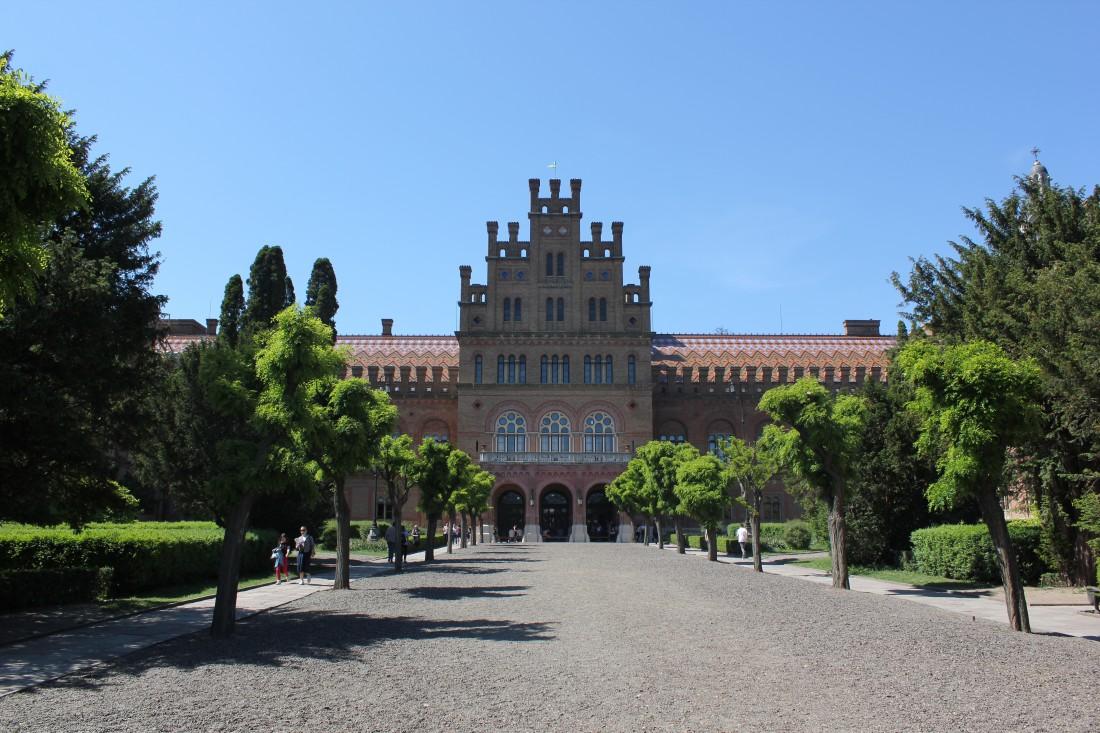 Черновицкий национальный университет имени Юрия Федьковича, где проходили сьемки
